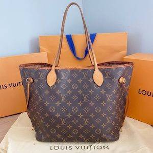 ❤️✨NEVERFULL MM✨❤️Auth Louis Vuitton Shoulder Bag!